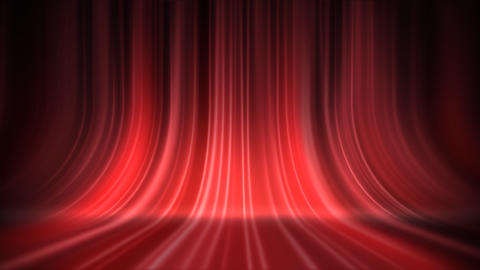 Stage Curtain 5 Ac 3 HD Stock Video Footage