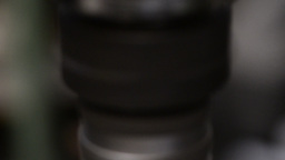Drilling in Metal Stock Video Footage