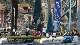 Oman Air compete in the Extreme Sailing Series Footage