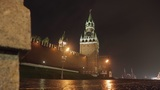 Night Red Square slider Footage