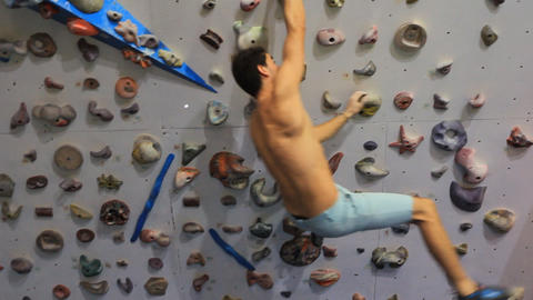 Rock climbing Mountain Climbing Extreme Sports rope cliff…, Live Action