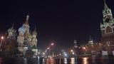 Night Red Square pan Footage