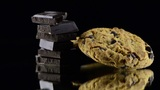 Chocolate Cookies stock footage