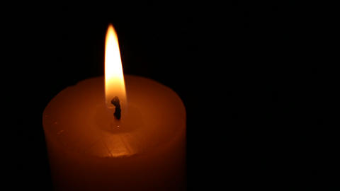 candle agitated Stock Video Footage