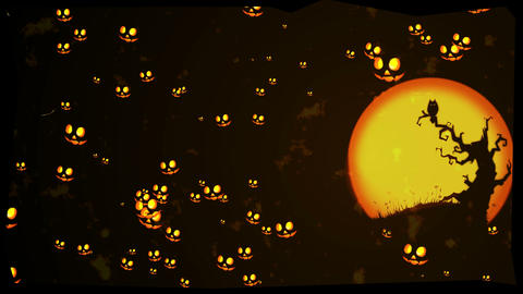 Halloween greeting Stock Video Footage