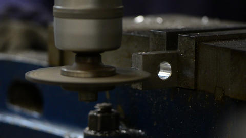 Metal cutting Stock Video Footage