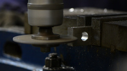 Metal cutting Stock Video Footage