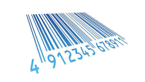 Barcode Stock Video Footage