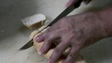 Cutting Bread Footage
