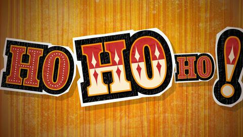 Ho Ho Ho Loop HD Stock Video Footage