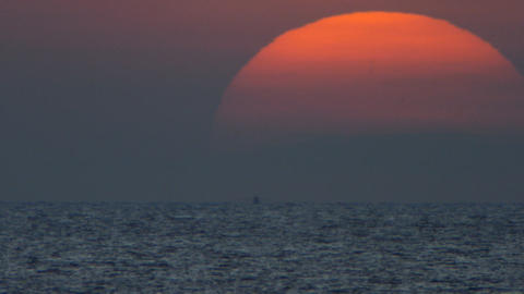 Sea sunrise Stock Video Footage