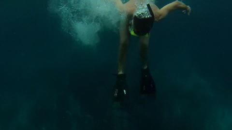 Snorkeling 1 Stock Video Footage