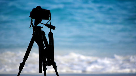 Surf shooting Stock Video Footage