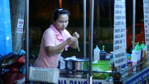 Thailand night life Footage