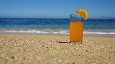Orange Juice Footage