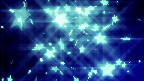 HD Looping Stars Animated Background Stock Video Footage