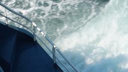 SHIP WAKE Stock Video Footage