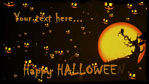 Halloween Project After Effects Template