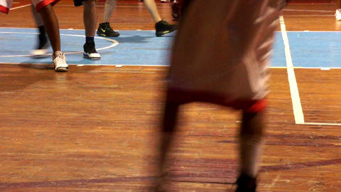 Basketball Tournament Stock Video Footage