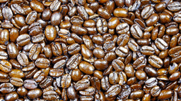 Rotating coffee beans Footage