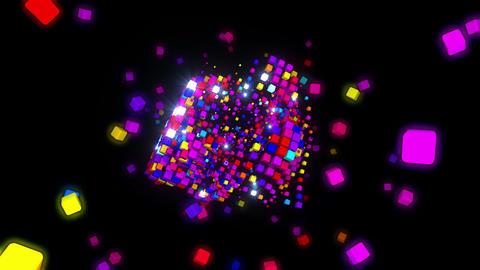 Colors Game 4K 01 Vj Loop Animation