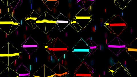 Colors Game 4K 03 Vj Loop Animation