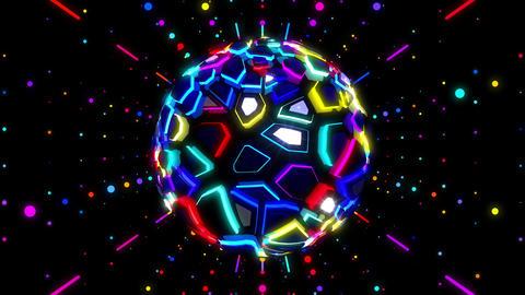 Colors Game 4 K 04 Vj Loop stock footage