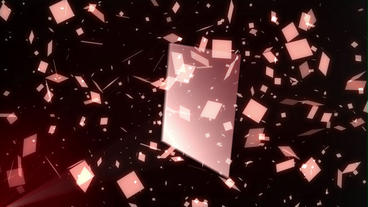 Shattered Glass After Effects Template
