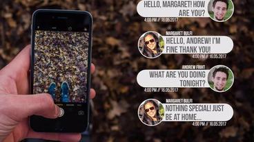 Phone Messages Premiere Pro Template