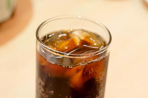 coca cola glass Foto