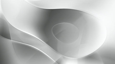 Gray abstract curves motion background seamless loop Animation