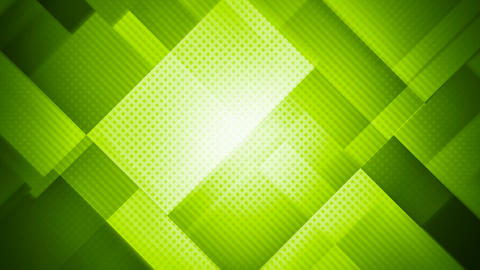 Green geometric abstract motion background seamless loop Animation