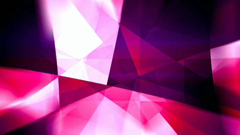 Purple rotating triangles abstract motion background seamless loop Animación