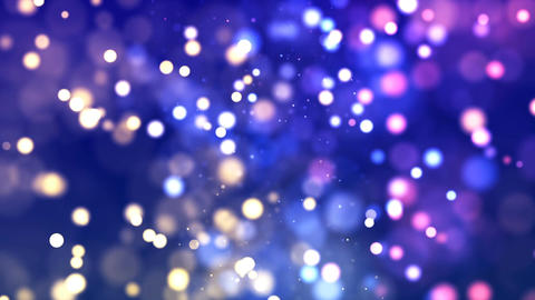 Free Footage - HD Loopable Background with nice glowing bokeh Animation