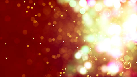 Free Footage - HD Loopable Background with nice golden bokeh Animation