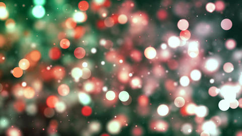 Free Footage - HD Loopable Background with nice colorful bokeh Animation