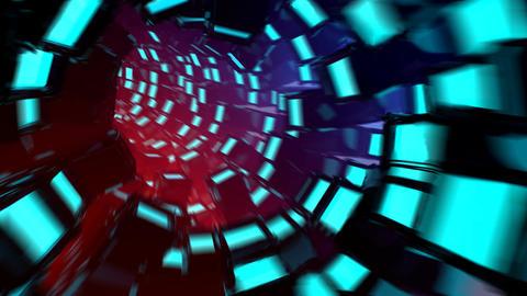 VJ_Display Tunnel Animation