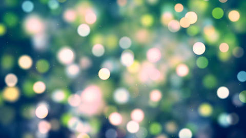 HD Loopable Background with nice bokeh Animation