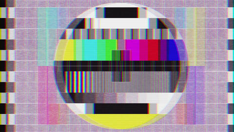 TV Color Bars Animation