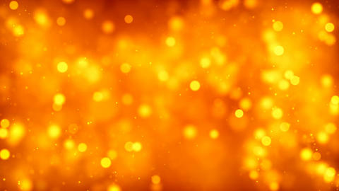 HD Loopable Background with nice orange particles Animation