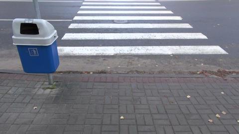 crossing city street Footage