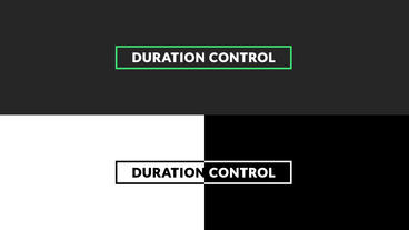 Invert Titles After Effects Template