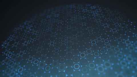 Hexagon grid background Animation