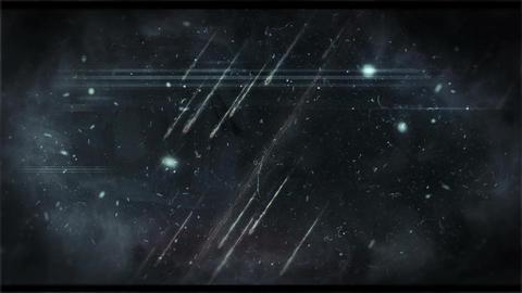 Meteor footage Animation