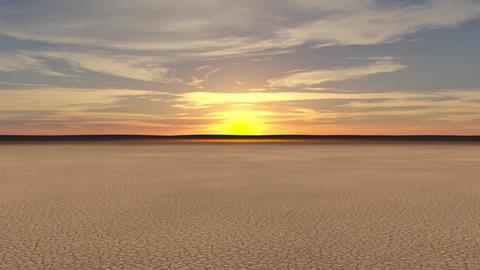 Sand SunsetScene Animation