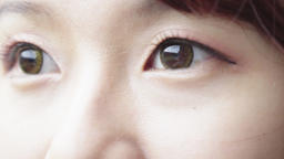 Close-up of woman's eye Filmmaterial