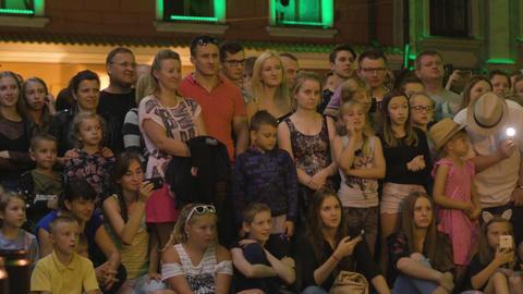 Krystian Minda Sword Swallower Show in Lublin Footage