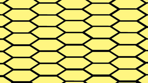 honeycomb tile CG動画素材