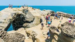 Taiwan's northeast coastline coastal scenery, Taiwan Live影片