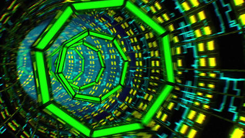 Tunnel VJ LOOP no1 Animation